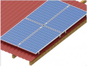 Konštrukcie FVP na šikmú strechu